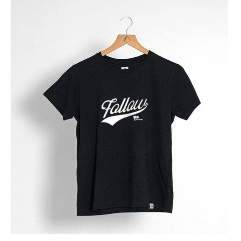 2021 Follow Script Ladies Tee - Black
