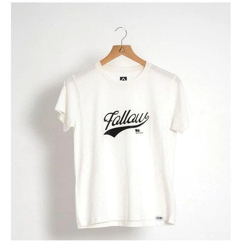2021 Follow Script Ladies Tee - Natural