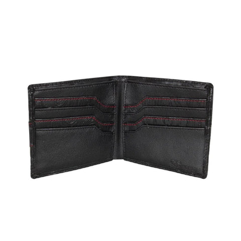 2018 Jetpilot Stitched Up Leather Wallet