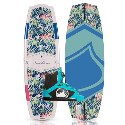 2019 Liquid Force Angel Wakeboard + Plush Boots Package