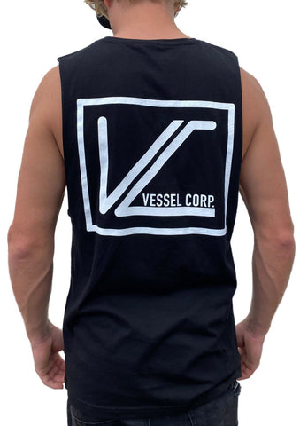 Vessel Corp Boxed Tank - Black