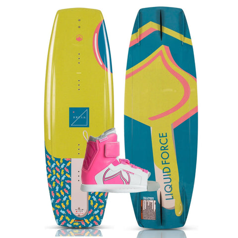2019 Liquid Force Dream Wakeboard + Dream Boots Package