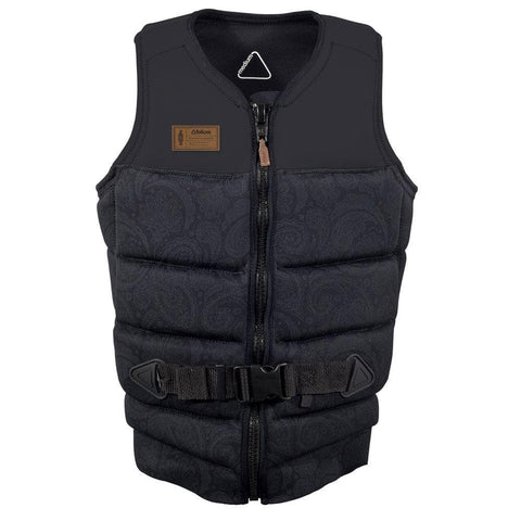 2017 Follow Paisley Pro Mens Vest Black