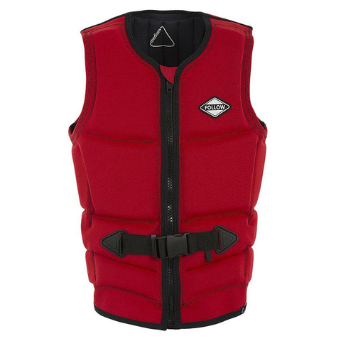 2019 Follow Corp Mens Vest - Red Level 50