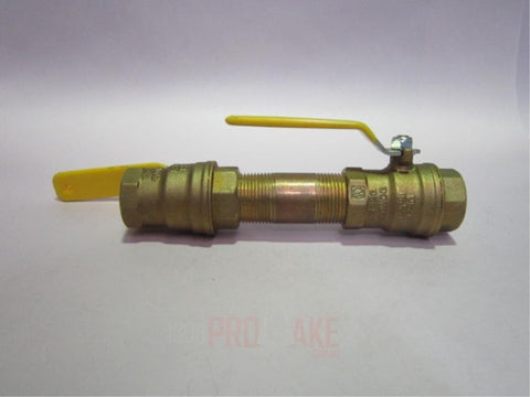 Valve Shut off ball brass