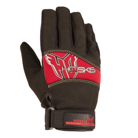 2021 HO Mens Pro Grip Glove - Black/ Red