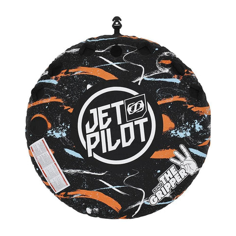 2020 Jetpilot Gripper 3 Person Round Towable - Black/Orange