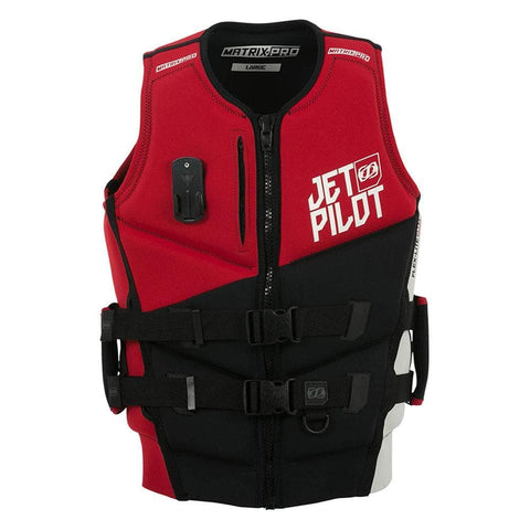 2019 Jetpilot Matrix Pro Pwc F/E Neo Vest - Red Level 50
