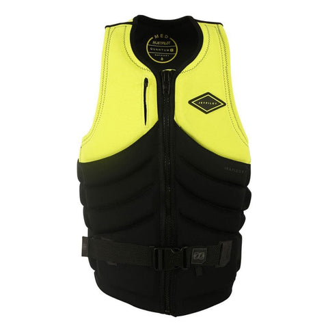 2019 Jetpilot Quantum X Seg F/E Neo Vest - Yellow Level 50