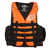 2017 Jetpilot Strike F/E Nylon Vest - Orange L50