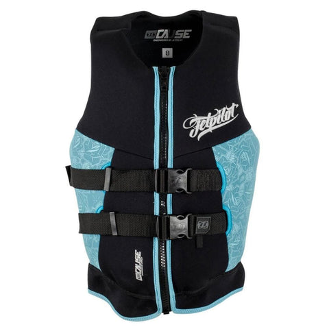 2018 Jetpilot The Cause Ladies Neo Vest - Black/Blue