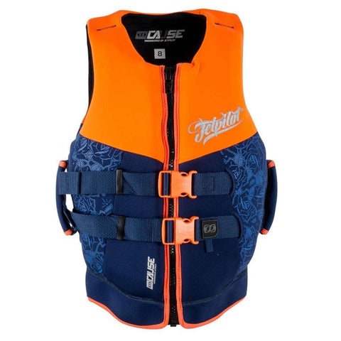 2017 Jetpilot The Cause Ladies Neo Vest - Orange L50/Purple