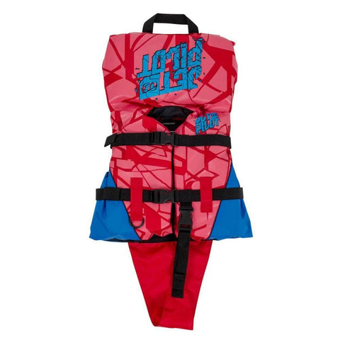 2018 Jetpilot The Cause F/E Infant Nylon Vst - Red L50/Blue 1 to 2