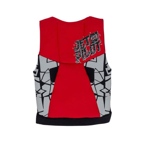 2017 Jetpilot The Cause F/E Kids Neo Vest - Red L50