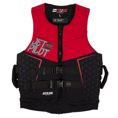 2017 Jetpilot The Cause L50 F/E Neo Vest - Red L50