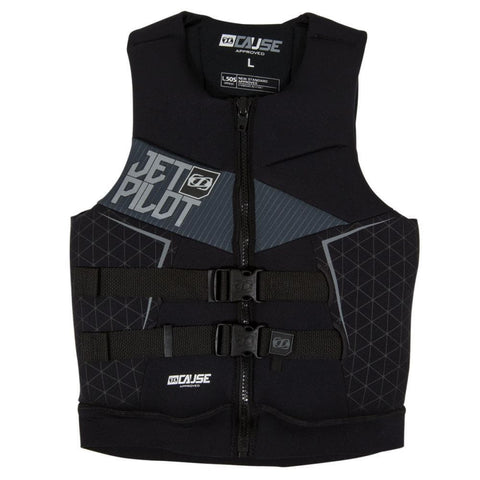 2018 Jetpilot The Cause L50S F/E Neo Vest - Black/Charcoal
