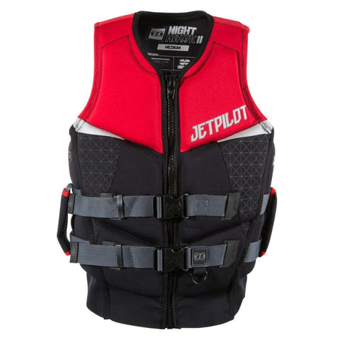 2018 Jetpilot Nighthawk 2 Pwc Seg Neo Vest - Red Level 50