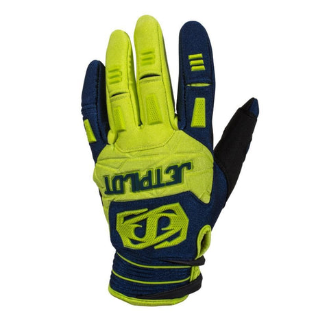 2018 Jetpilot Matrix Race Glove - Blue/Lime