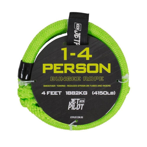 2019 Jetpilot Towable Bungee Cord 4 Ft - Green