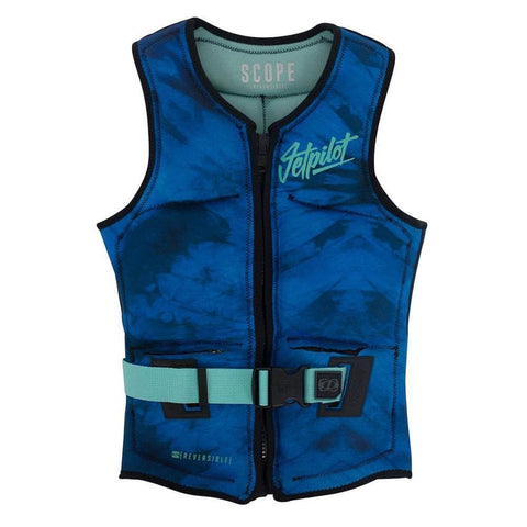 2018 Jetpilot Scope Rev Ladies Neo Vest - Teal/Limited Edition