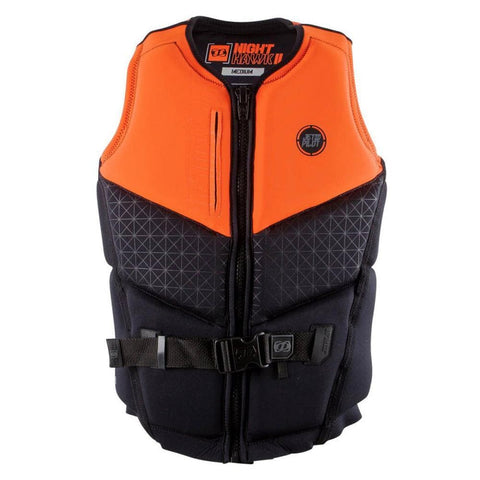 2018 Jetpilot Nighthawk 2 Seg F/E Neo Vest - Orange Level 50