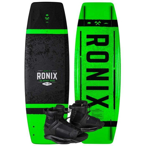 2021 Ronix 129 District with Divide Package - Textured Black / Green / White