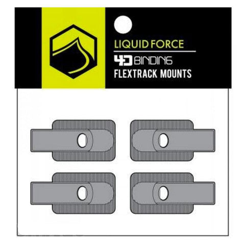 2019 Liquid Force 4D Flex Track Board Mount X 4