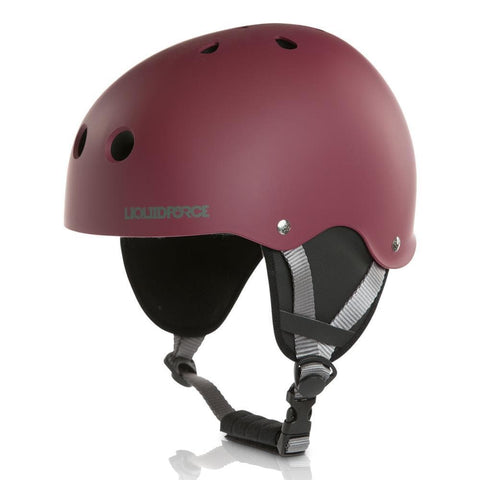 2018 Liquid Force Helmet Flash Ox Blood