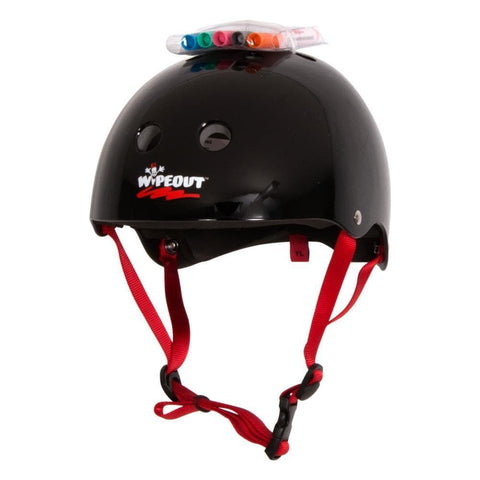 2018 Liquid Force Helmet Kids Wipe Out Black