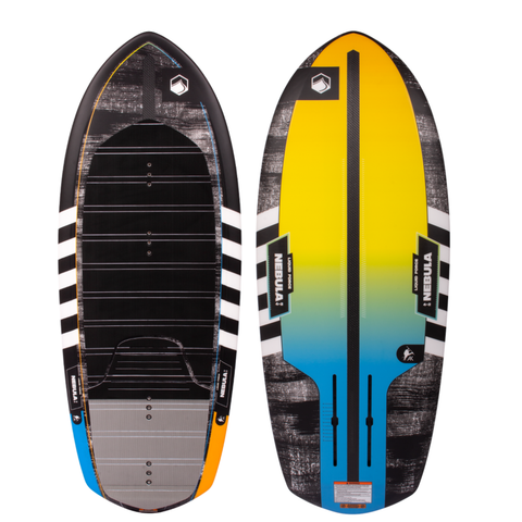 "2021 Liquid Force Nebula 4'2"" W/Horizon Foil Set"