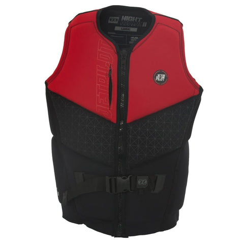 2018 Jetpilot Nighthawk 2 Seg F/E Neo Vest - Red Level 50