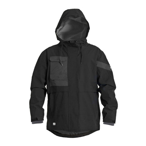 2021 Follow Layer 3.1 Outer Spray Anorak - Black
