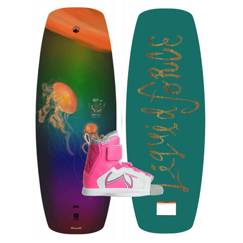 2019 Liquid Force Rant Ltd. Wakeboard + Dream Boots Package