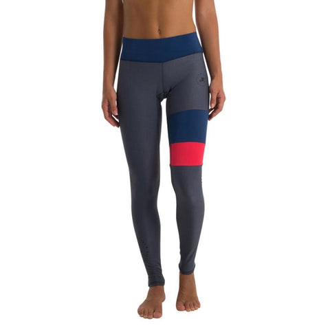 2018 Jetpilot Jpco Ladies Rashie Leggings - Blue/Red