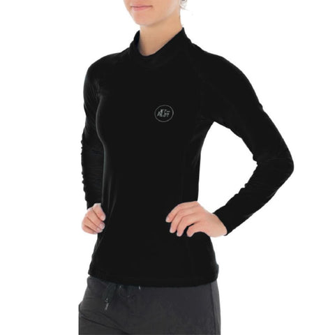 2018 Jetpilot Allure Therma Fleece Rashie - Black