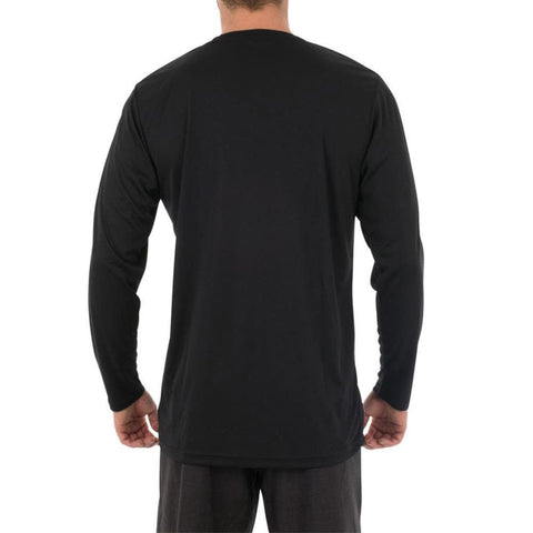 2018 Jetpilot Corp Loose Fit LS Hydro Tee - Black