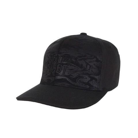 2018 Jetpilot X1 Embossed Mens Cap - Black