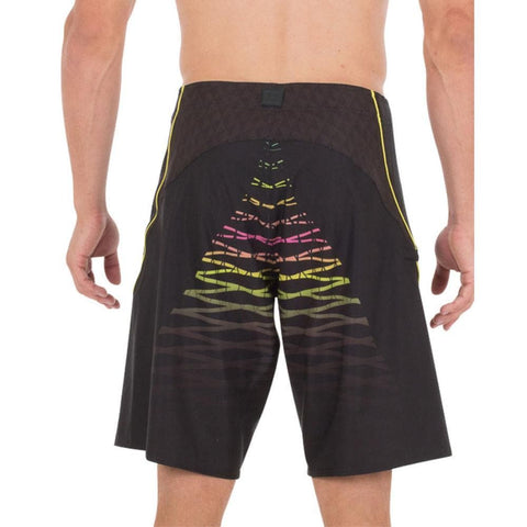 2018 Jetpilot Radar 2.0 Mens Boardshort - BlackYellow