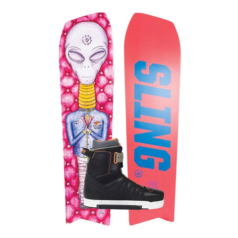 2020 Slingshot Space Mob Directional 160 Wakeboard  + RAD Boots  package