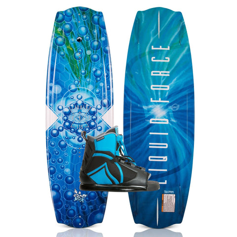 2019 Liquid Force Trip Wakeboard + Index Boots Package