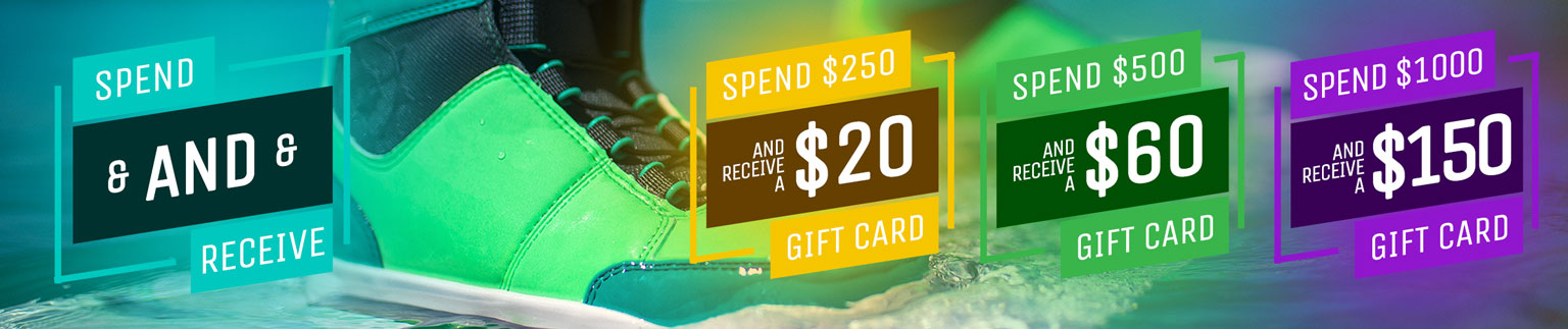 Spend and Receive a free gift card up to $150