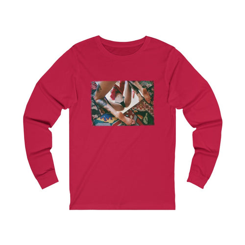 Shirt - Longsleeve | Trash Baby - Reflect Red
