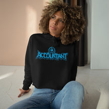 Load image into Gallery viewer, Hoodie - Crop: Lowlifes - Accountant Aqua