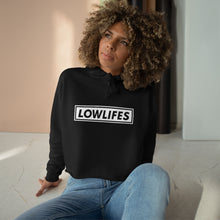 Load image into Gallery viewer, Hoodie - Crop: Lowlifes - Lowbar