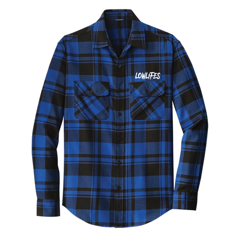 Shirt - Low2 Blu Flannel