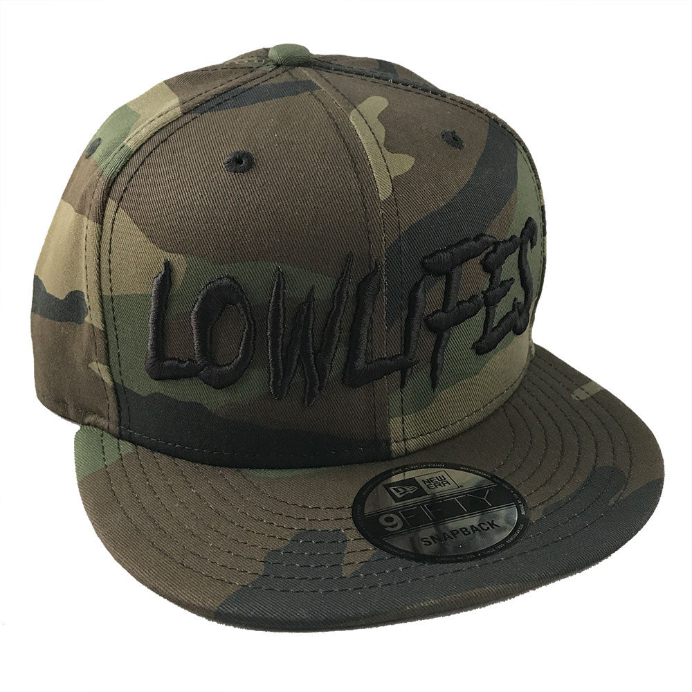 Hat - New Era - Lowlifes2 Camo/Blk