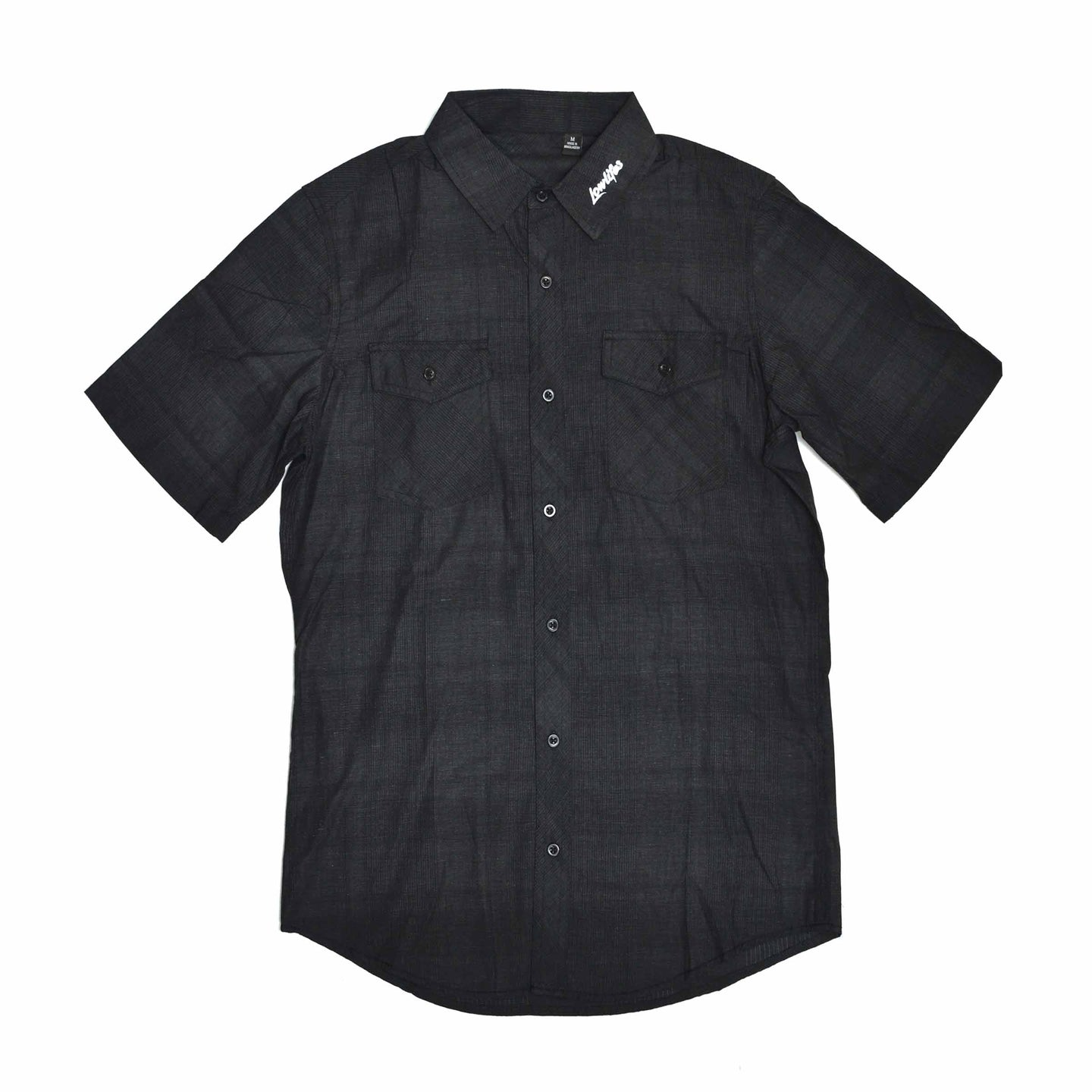 Shirt - Button | Lowlifes - Ess Plaid Blk