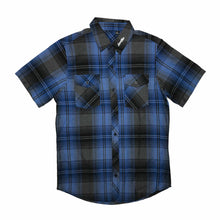 Load image into Gallery viewer, Shirt - Button | Lowlifes - Ess Plaid Blu