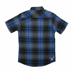 Shirt - Button | Lowlifes - Ess Plaid Blu