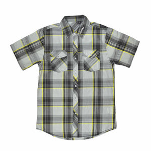 Shirt - Button | Lowlifes - Ess Plaid Yellow